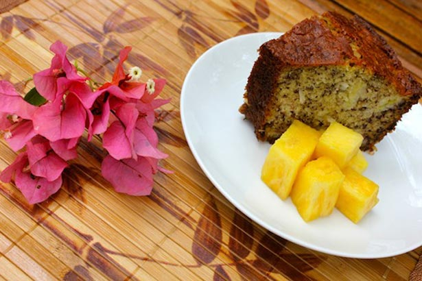 Miss Cleo's Coconut Banana Bread