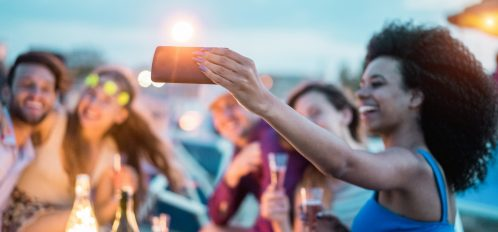 friends enjoying summer events in grand cayman