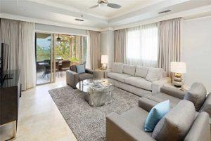 Residence 508 living room