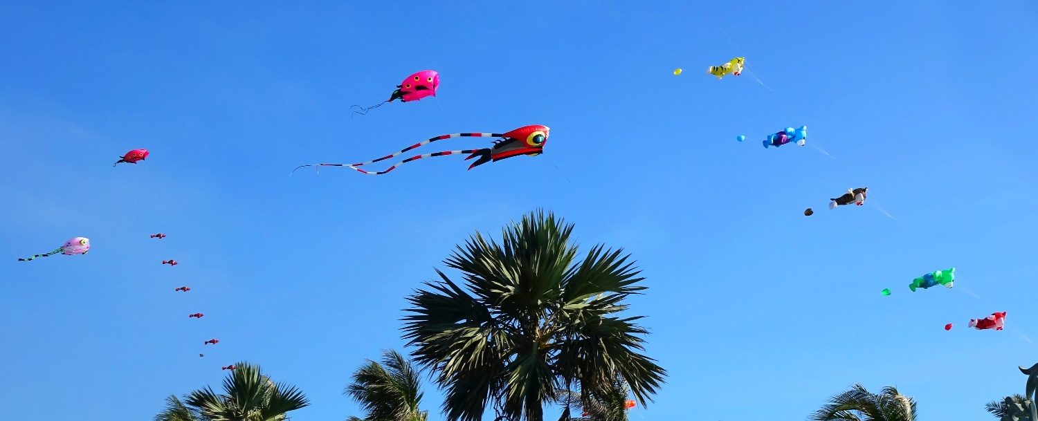 Cayman Kitefest at Kaibo Beach