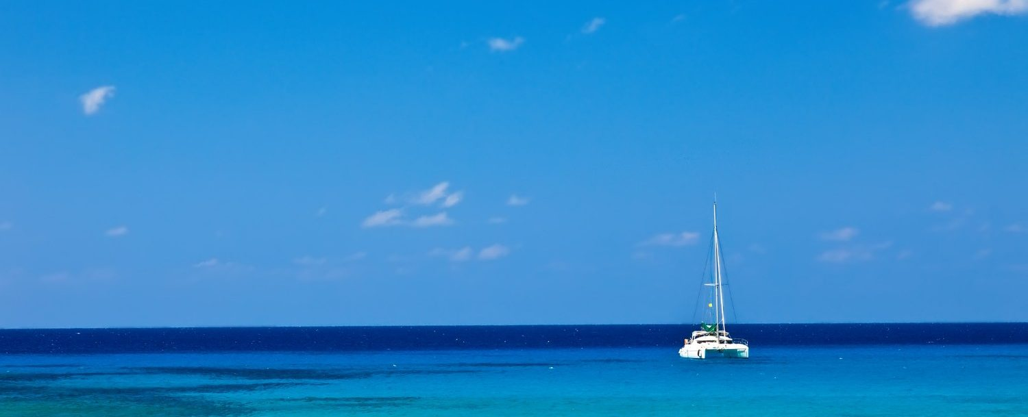 Sailing in the Cayman Islands