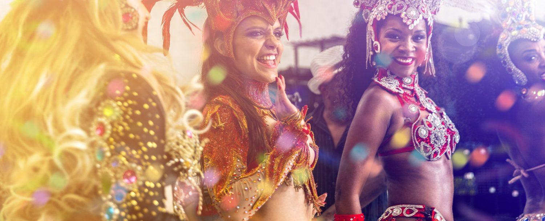 women at Cayman Carnival Batabano