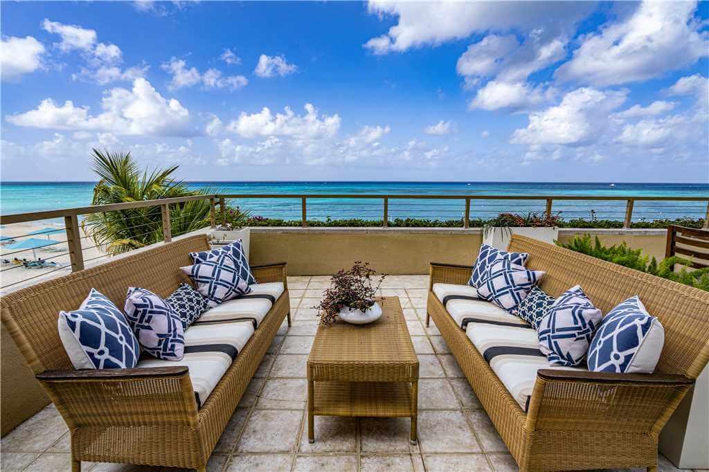 residence 307 back veranda with ocean view