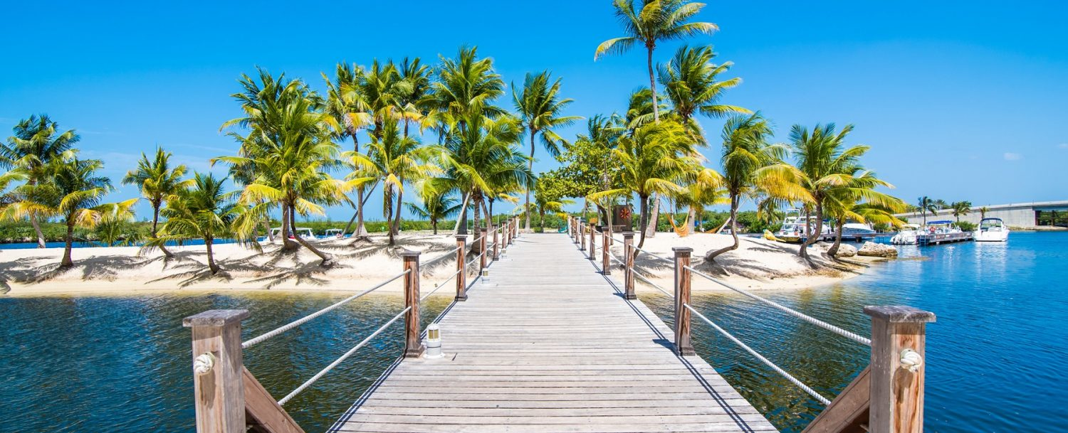 dock on a Cayman Islands vacation